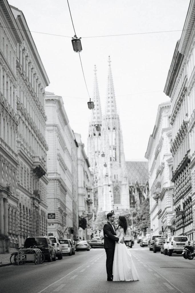 Młoda Para w Wiedniu