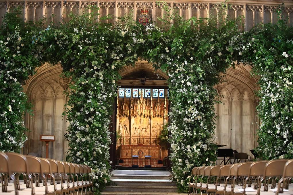 Royal Wedding dekoracje świątyni