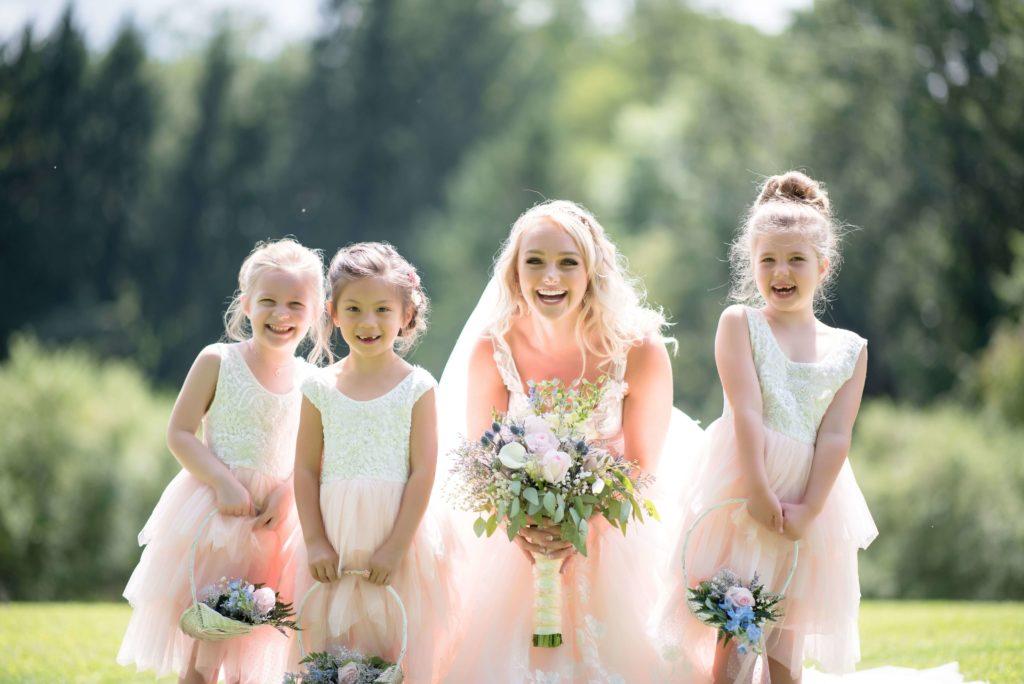 Sukienki flower girls