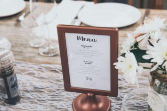 8 zasad komponowania menu weselnego