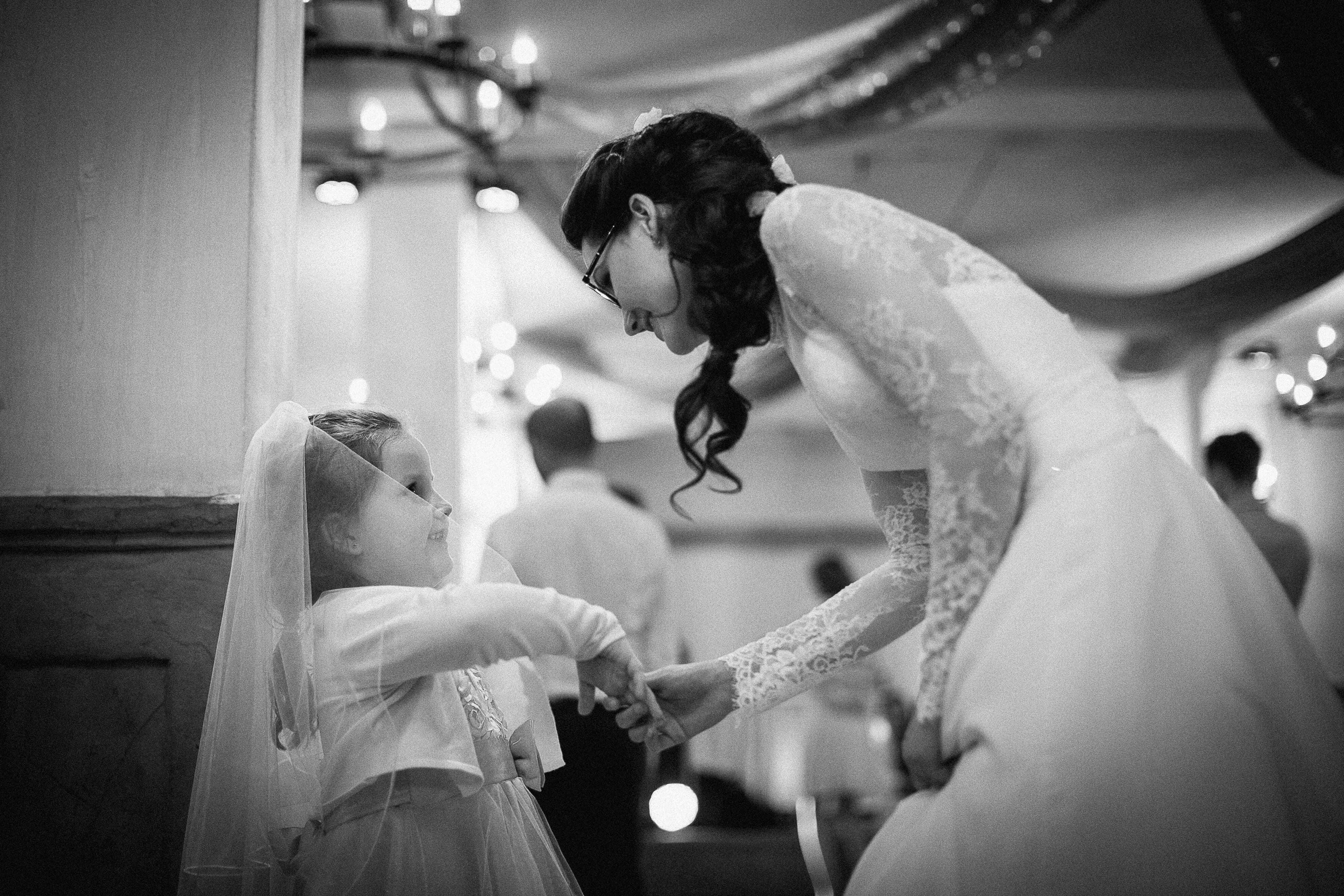Dzieci Pary Młodej na weselu