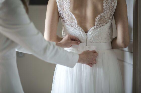 Pierwsza wizyta w salonie sukien ślubnych